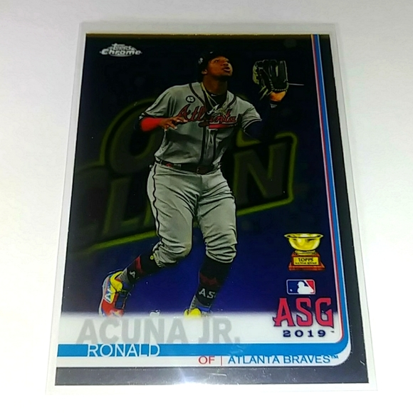 Ronald acuna Jr Rookie cup ASG, #81